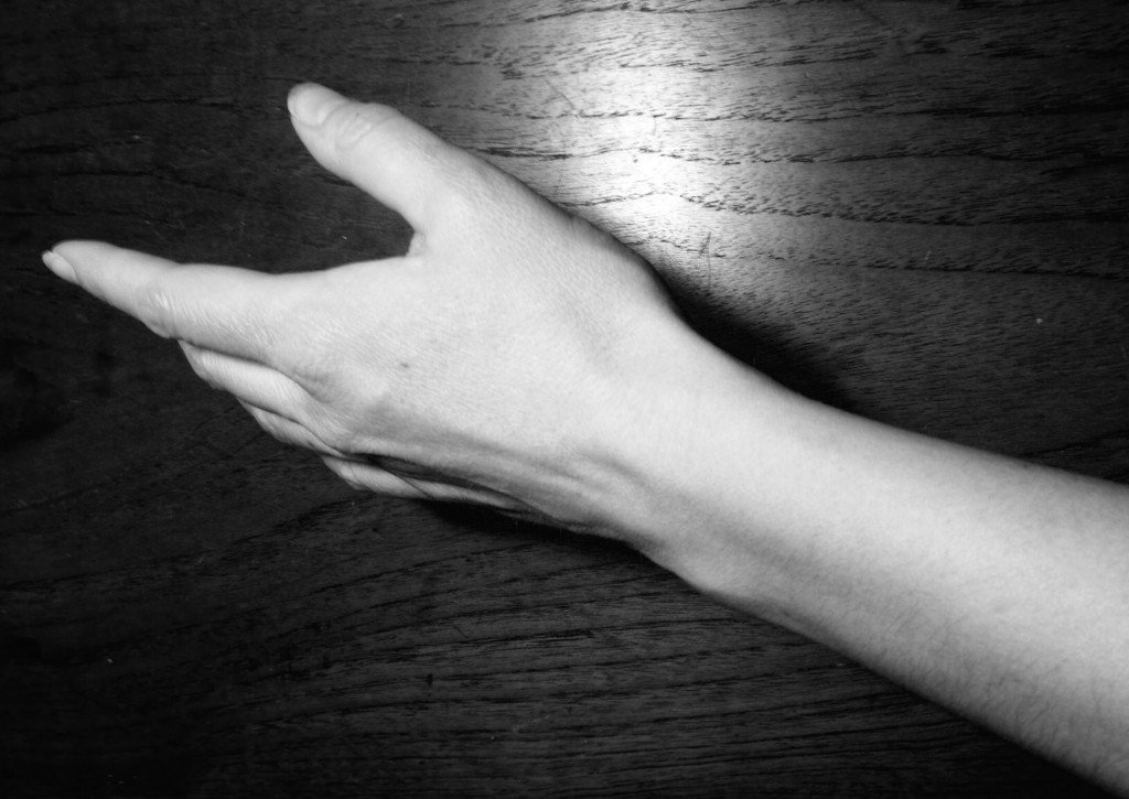 hånden