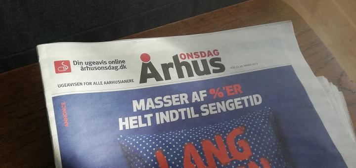 Adgangsbilletten. Aarhus Onsdag