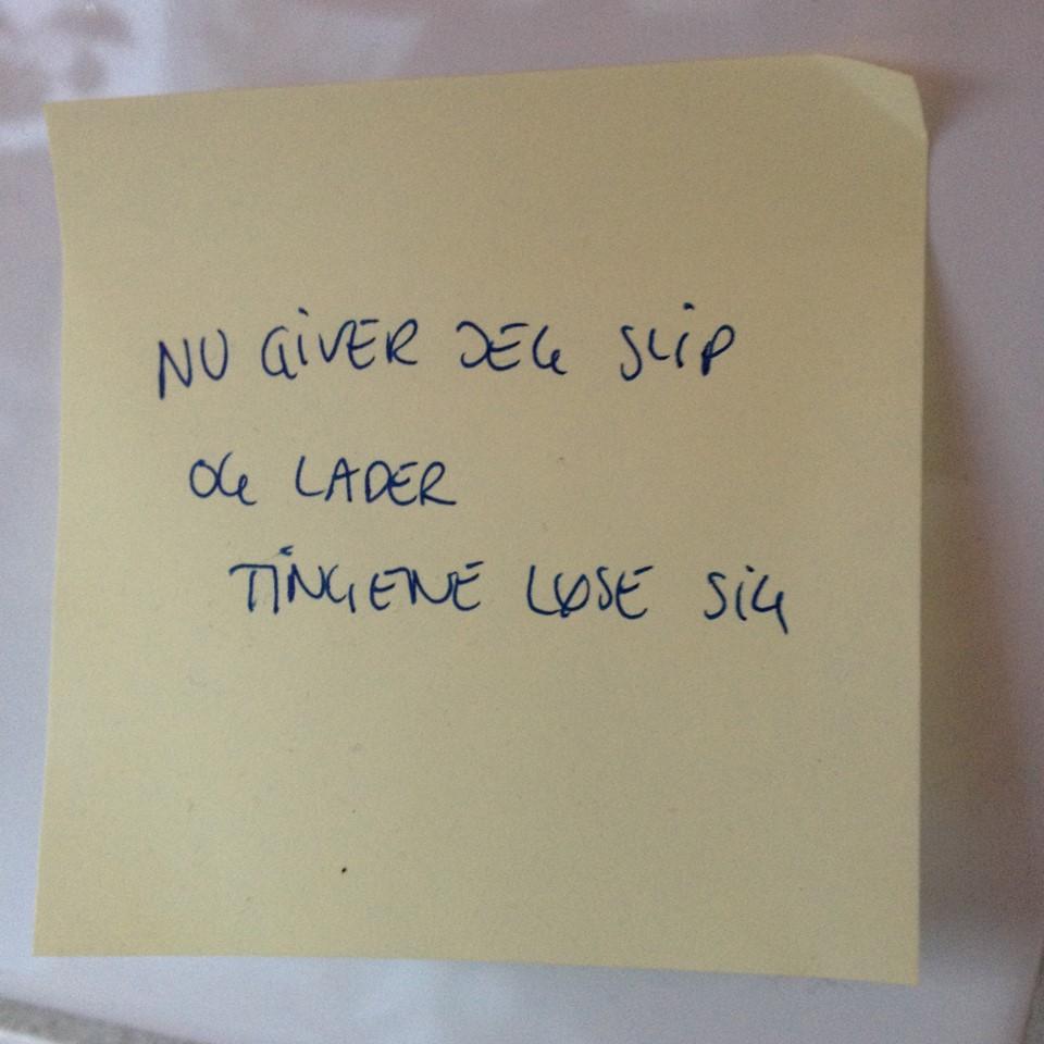 give slip
