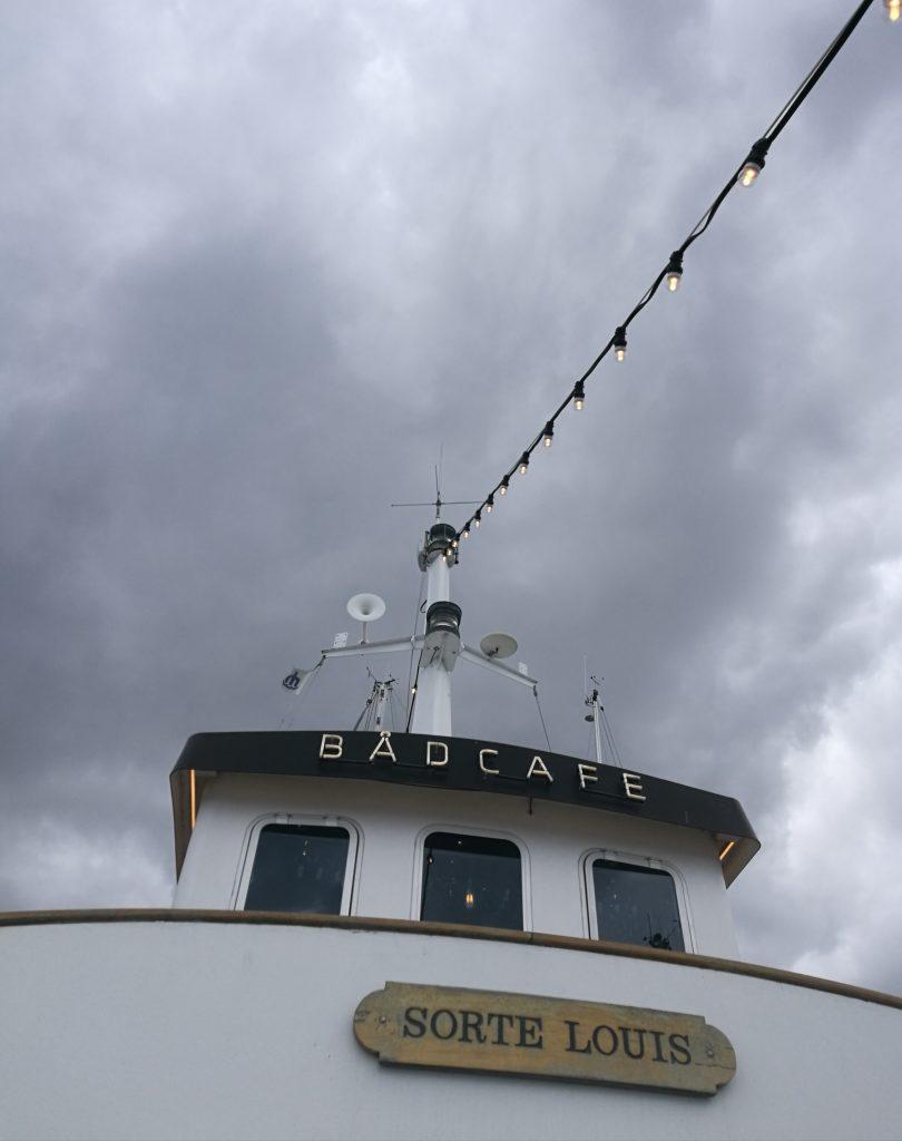 Sorte Louis - bådcafé - Aarhus