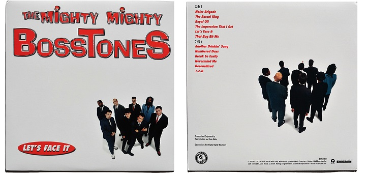 The Mighty Mighty Bosstones Let's Face It cover