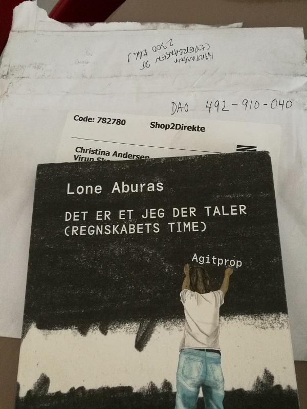 Taknemmelighed. Billede af Lone Aburas' bog Det er et jeg der taler