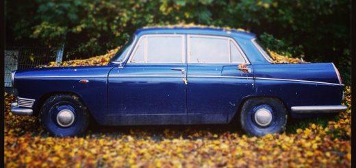 Lykke. Lovely retro bil