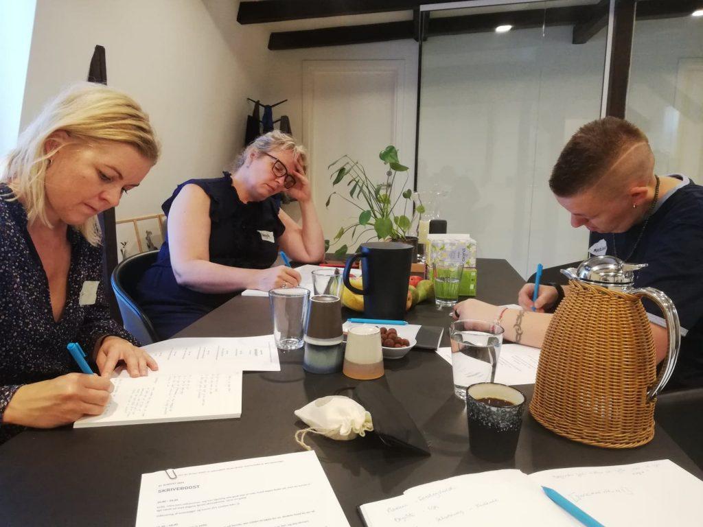 Iværksætter Skriveboost aug 19 Holdet