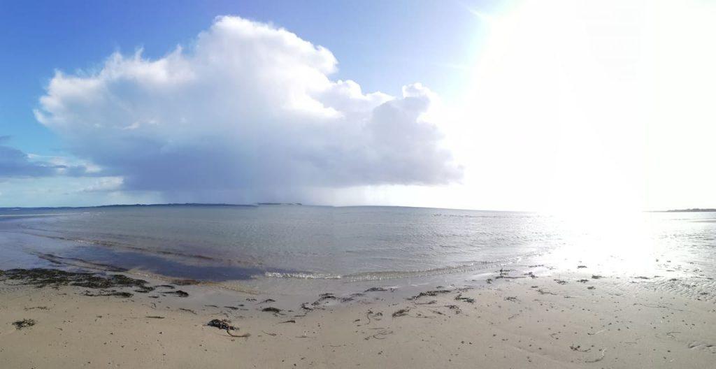 Skæring strand. Velsignelser